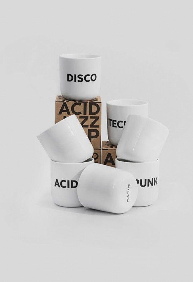 Playtype Beat Mug Pop White – Voo Store