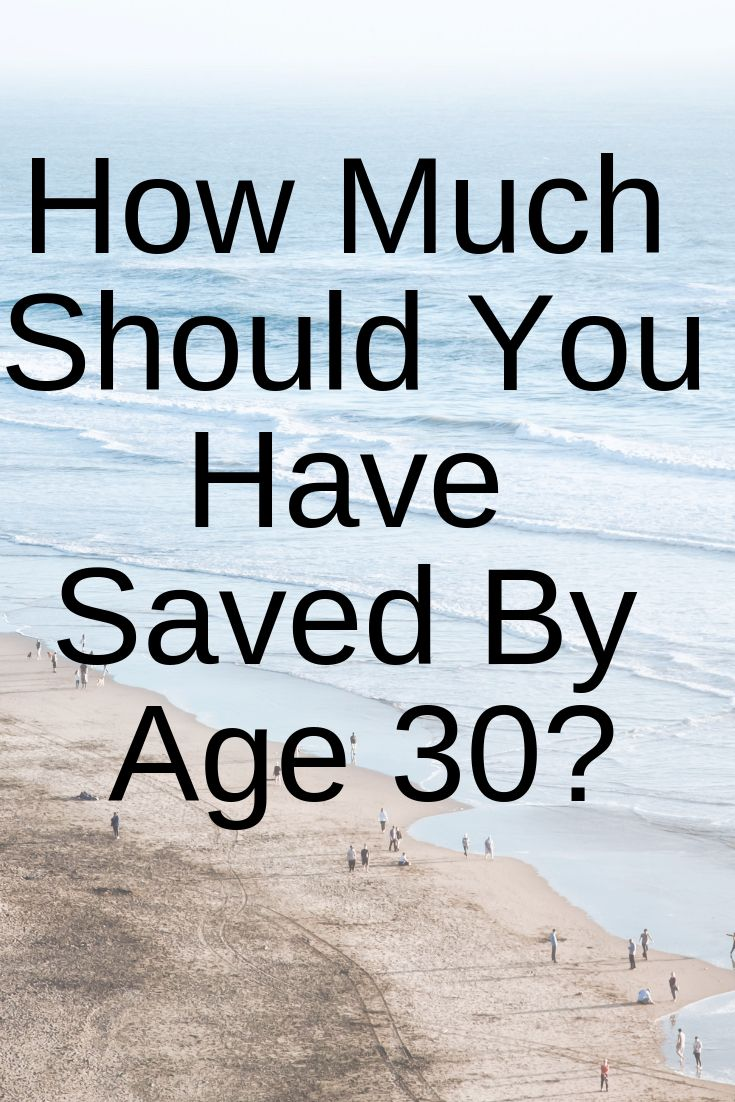 How Much Should You Have Saved By 30? What's Your Retirement Plan
