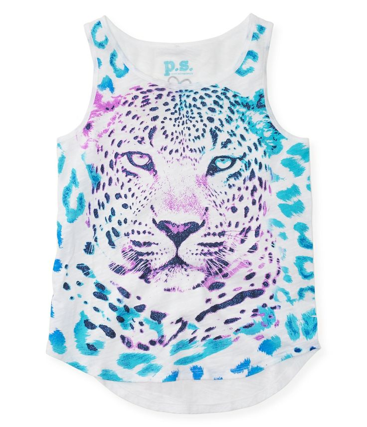 No one's fiercer than you when it comes to hunting down fresh fashion, so our totally awesome Cheetah Face Tank is bound to be your next cat...