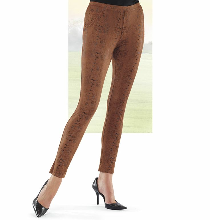 Sueded Snakeskin Leggings - New Age, Spiritual Gifts, Yoga ...