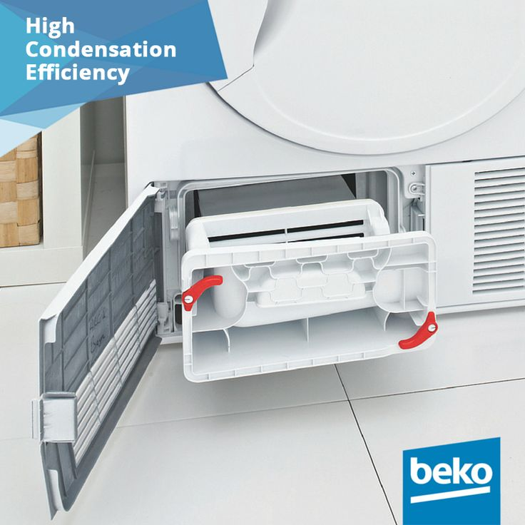 Better sealed for high efficiency! With specially sealed design, more condensation and less hot air escapes. The formation of the humidity within the environment will also be minimised by this special technology. Learn more here: http://bit.ly/1jPVQJE #beko #dryer #highcondensationefficiency #smartsolutions