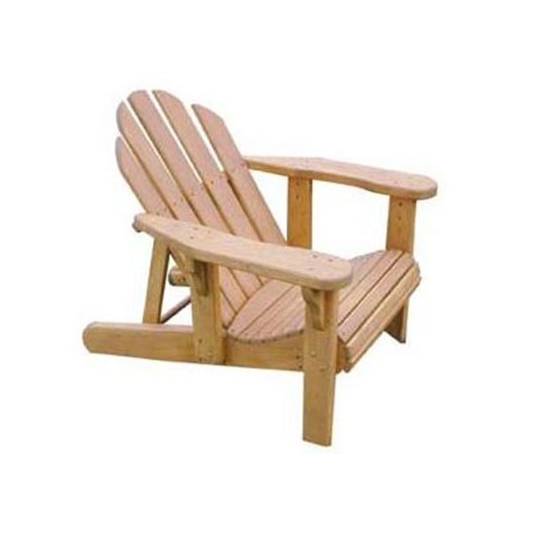 40 Outdoor Woodworking Projects For Beginners: Adjustable Adirondack Chair Plan