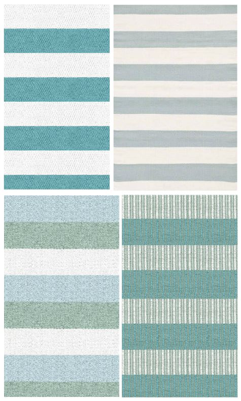 Awesome Striped Coastal Rug Collection! Featured On CC: Http://www.