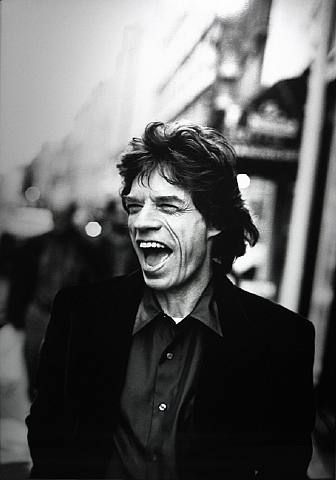 Jagger by Peter Lindbergh- I had a poster of him on my wall all through highschool. He has the OOmph quality by far.