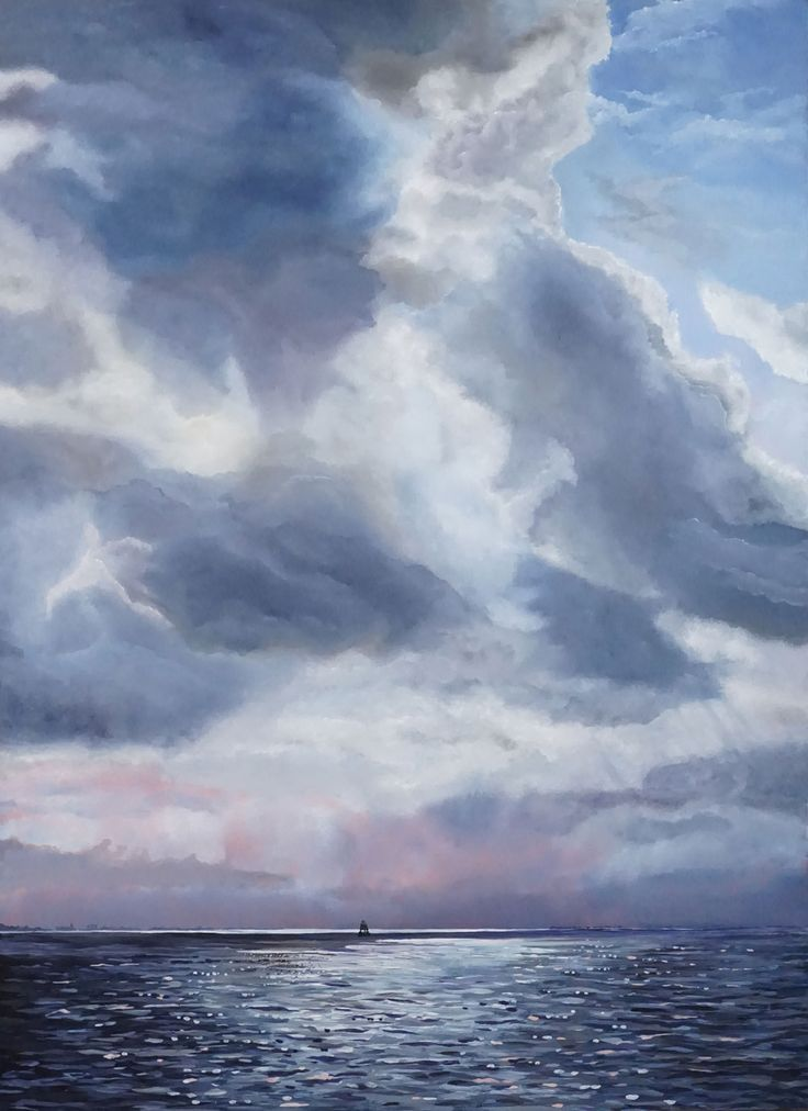 Dutch Clouds at Haringvliet & Slijkplaat – PIETER BROERTJES
