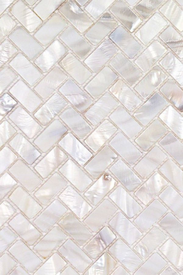 Herringbone Mother Of Pearl Mosaic Tile Pearl Tile Mosaic Bathroom Tile Mosaic Shower Tile