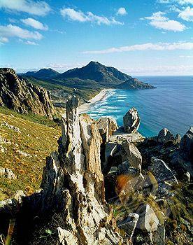 West Ruggedy Beach in Rakiura National Park ~ Stewart Island, New Zealand