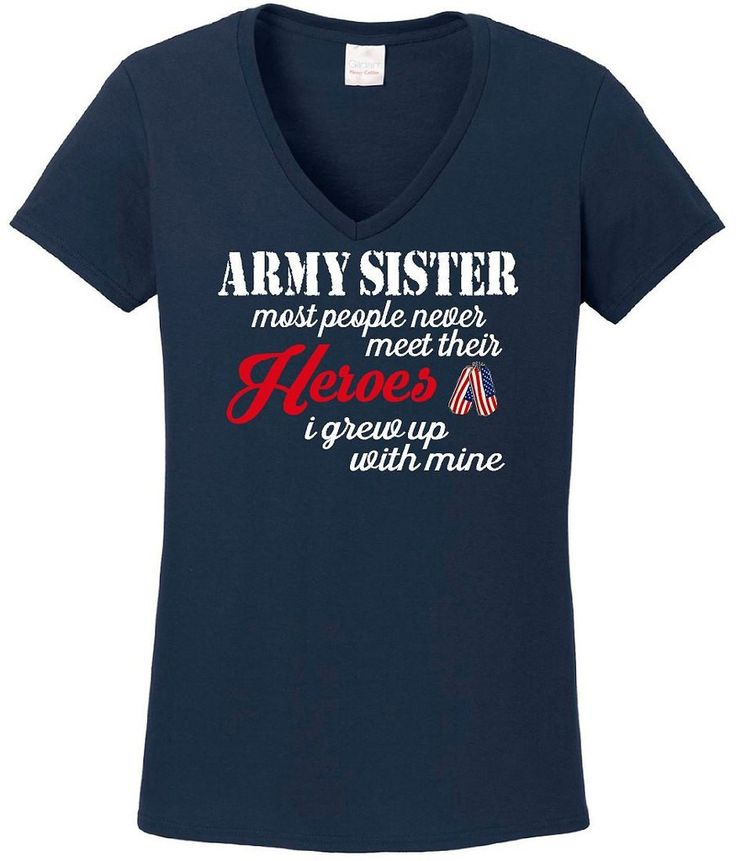 Army Shirt, Army Sister, Military Support Our Troops Tee, Sister Tee Shirt, Army Sister Shirt, Military Sister Shirt, Tops Tees