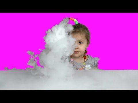 ✔ Эксперимент для детей Сухой лед, Проводим опыт Детская химия Experimen...