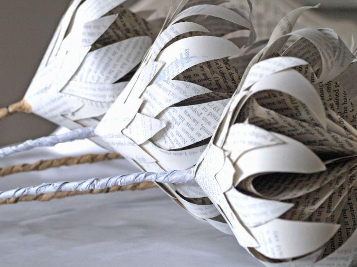freshly found - Whitewashed Paper Proteas