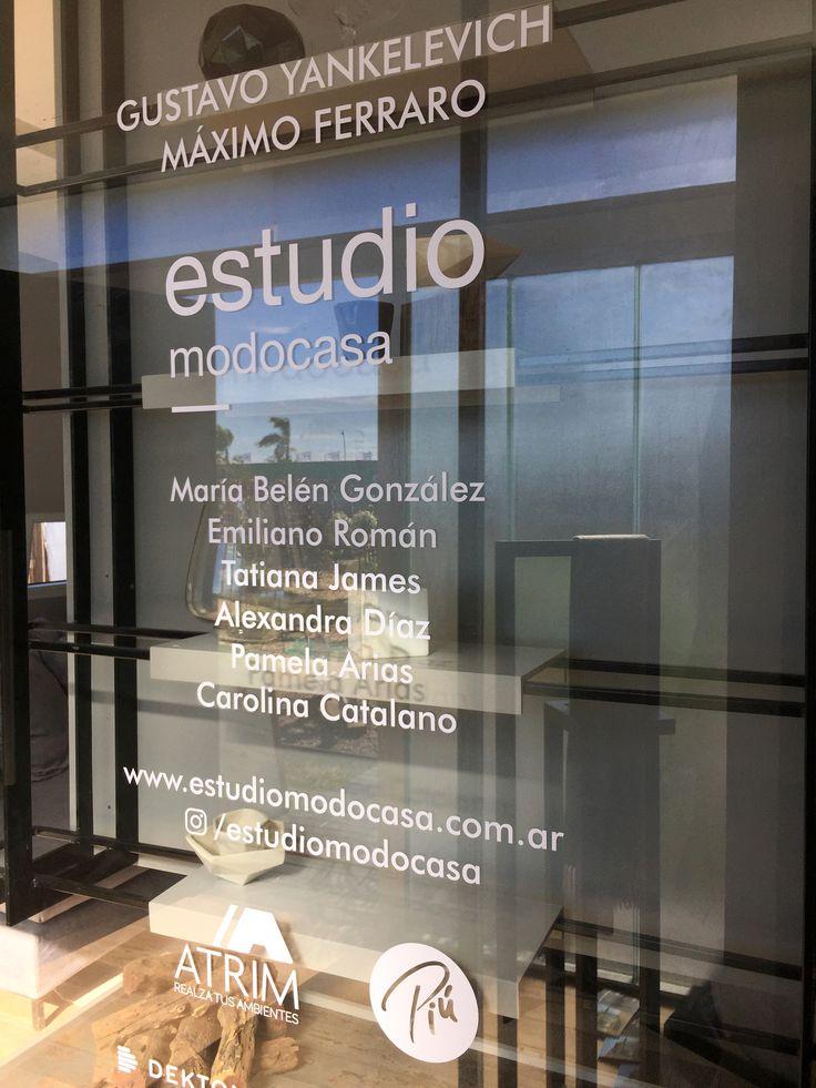 Placa  Estilo Pilar 2017. Atrim Sponsor Oficial de Estudio Modo Casa en Estilo Pilar.