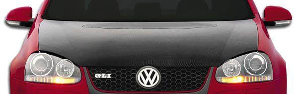 2005-2009 Volkswagen Jetta 2006-2009 Golf GTI Rabbit Carbon Creations OEM Hood - 1 Piece