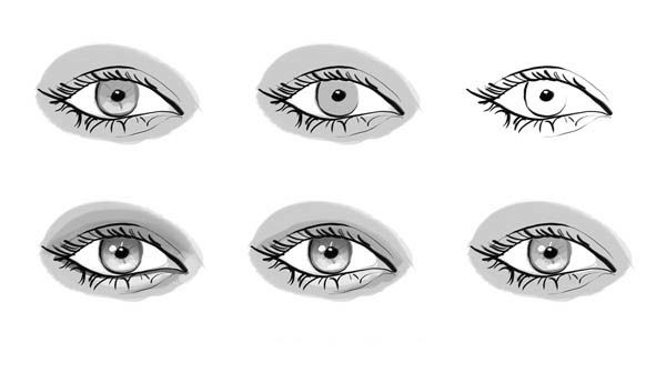 Beautiful Woman Eyes Coloring Coloring Pages