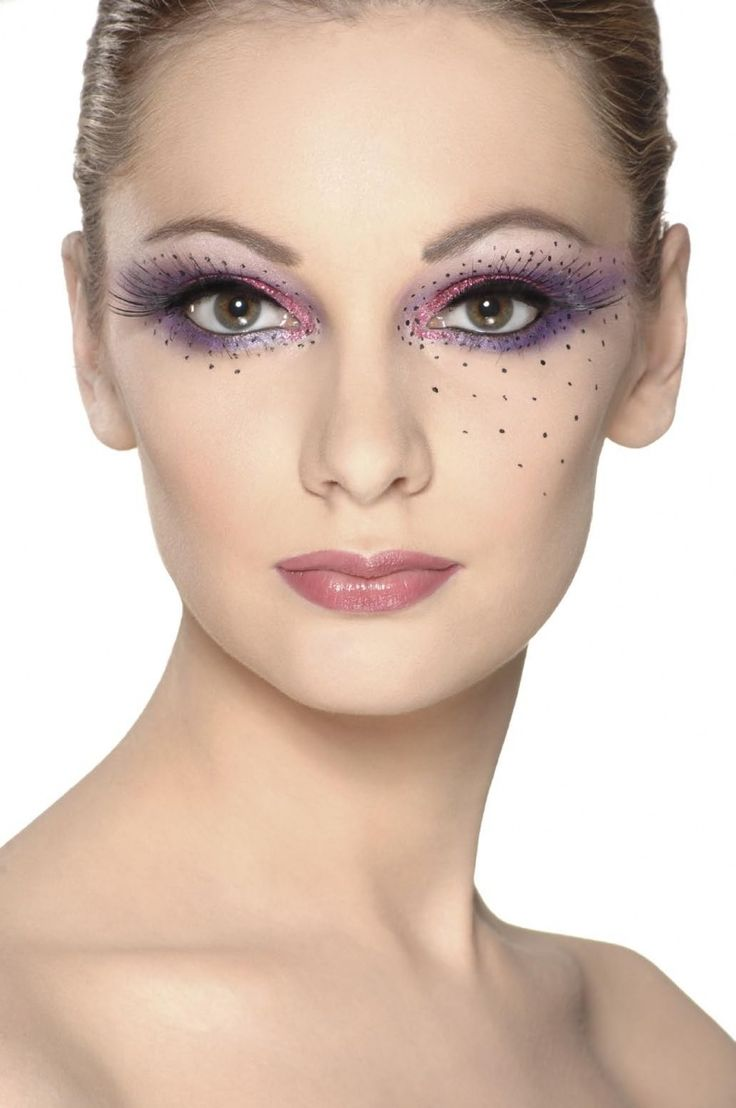 Pretty Makeup With The Eye Glitters 2052994: Stage Makeup Inspiration
