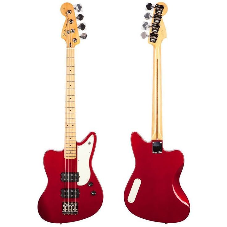 The STRATosphere - Used 2013 Fender Pawn Shop Reverse Jaguar BASS GUITAR Candy Apple Red MINT!, $379.99 (http://www.stratosphereparts.com/used-2013-fender-pawn-shop-reverse-jaguar-bass-guitar-candy-apple-red-mint/)