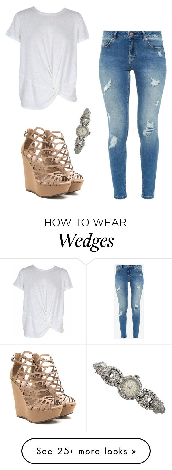 """Untitled #1961"" by vireheart on Polyvore featuring Ted Baker and MINKPINK"