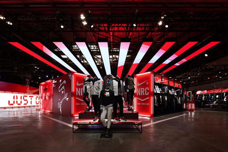 Nike Shanghai Marathon Expo 2017 by COORDINATION ASIA #nike #shanghai #china #marathon #expo #popup #running #retail #design #coordination #asia #justdoit #red #speed #exhibition #fast