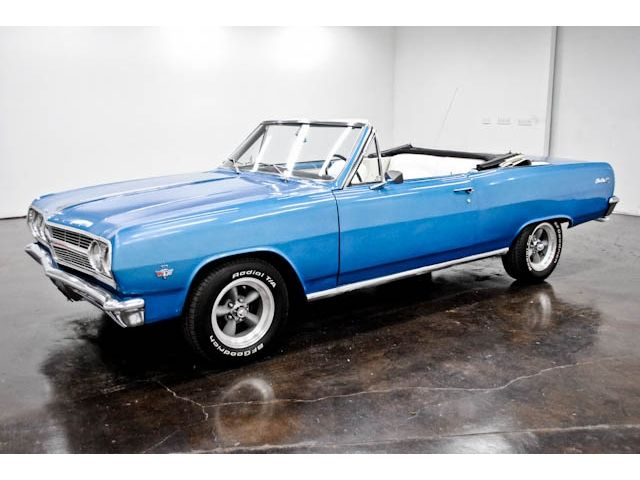 1965 Chevy Chevelle Convertible 350 4spd