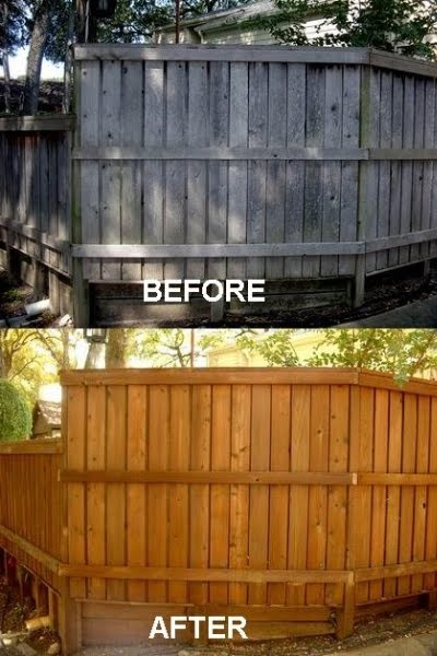 138 Best Stained Fences Images On Pinterest