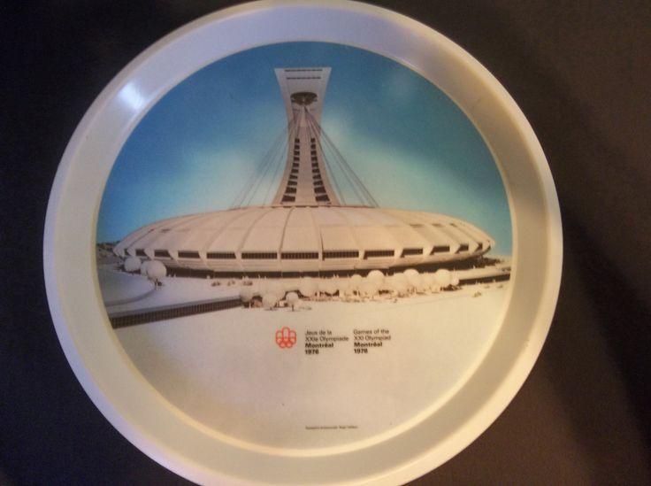 Jeux olympiques 1976 Montréal stade plateau de par BabisTreasures