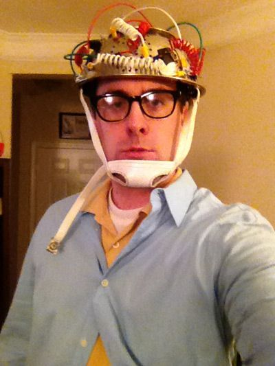 A great DIY 80s costume idea.  Vinz Clortho from Ghostbusters!