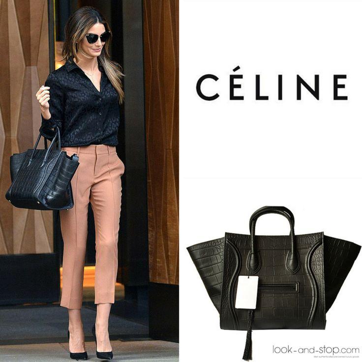 El modelo Phantom de CÉLINE es uno de los bolsos más buscados de la temporada. Lo tenemos en piel efecto cocodrilo negro #New #shopping #segundamano #sales