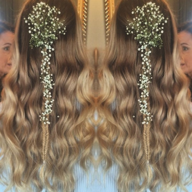 One of the styles I got to do for the Appleton wedding! #hairbyharmonyjanerewald #hairdressing #bohemian #curls #braids