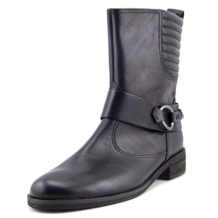 Gabor 92.794 W Round Toe Leather Ankle Boot
