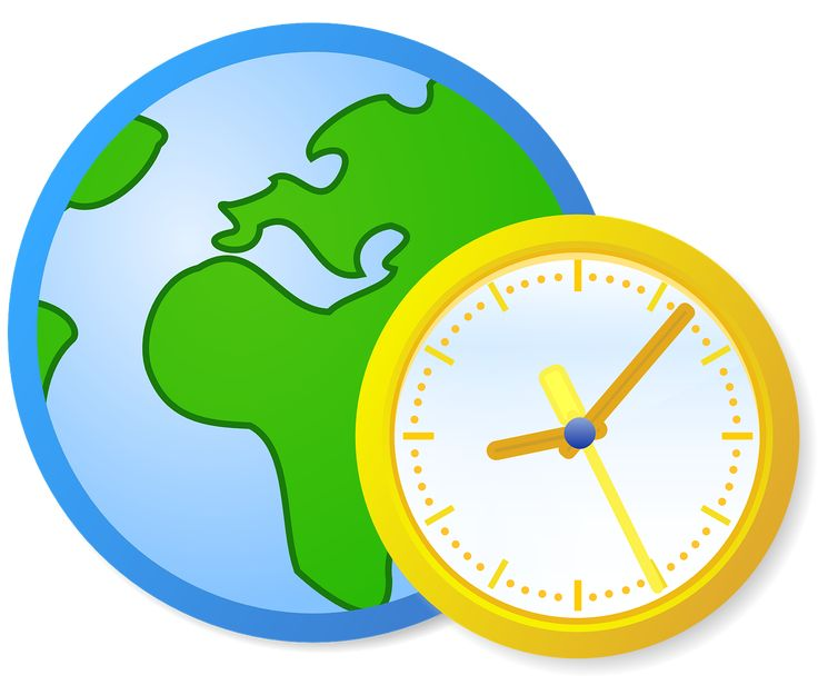 Globe Earth Green Blue Clock transparent image