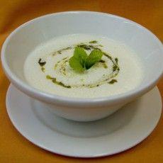 Сливочный крем-суп с морскими гребешками