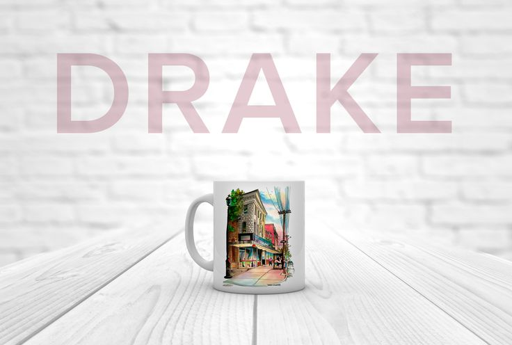 Let's get #drizzy with #thedrakehotel and #davidcrighton_art