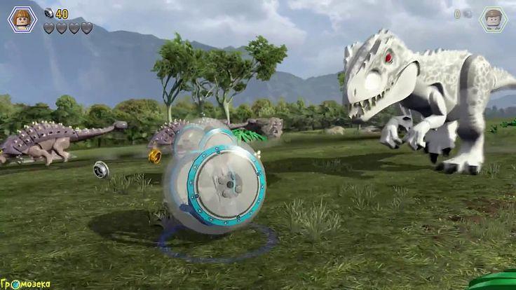 Мир Юрского Периода.Динозавр Индоминус Рекс.Игры Мультики про Динозавров...