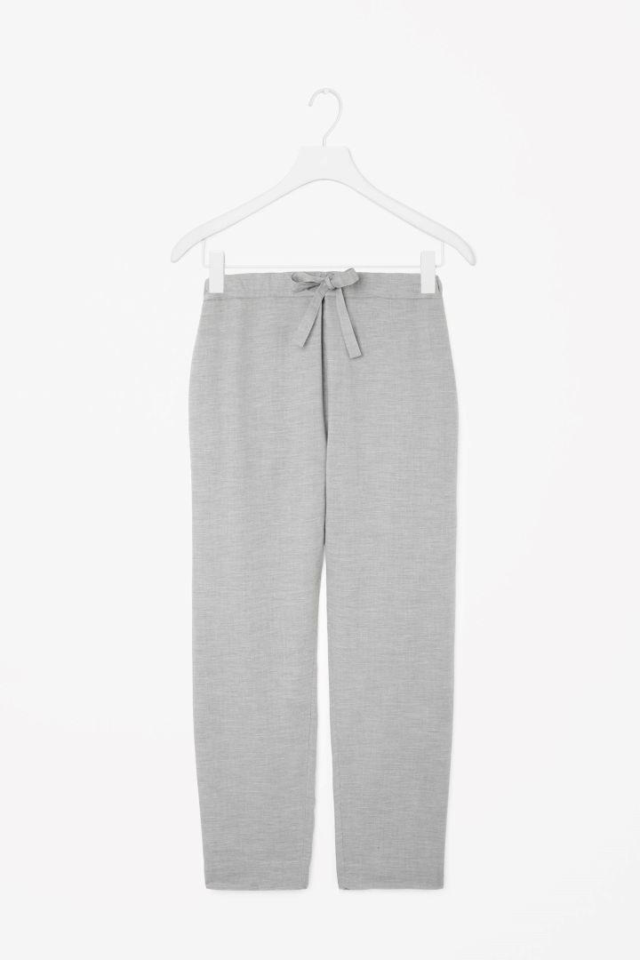 Flannel pyjama trousers