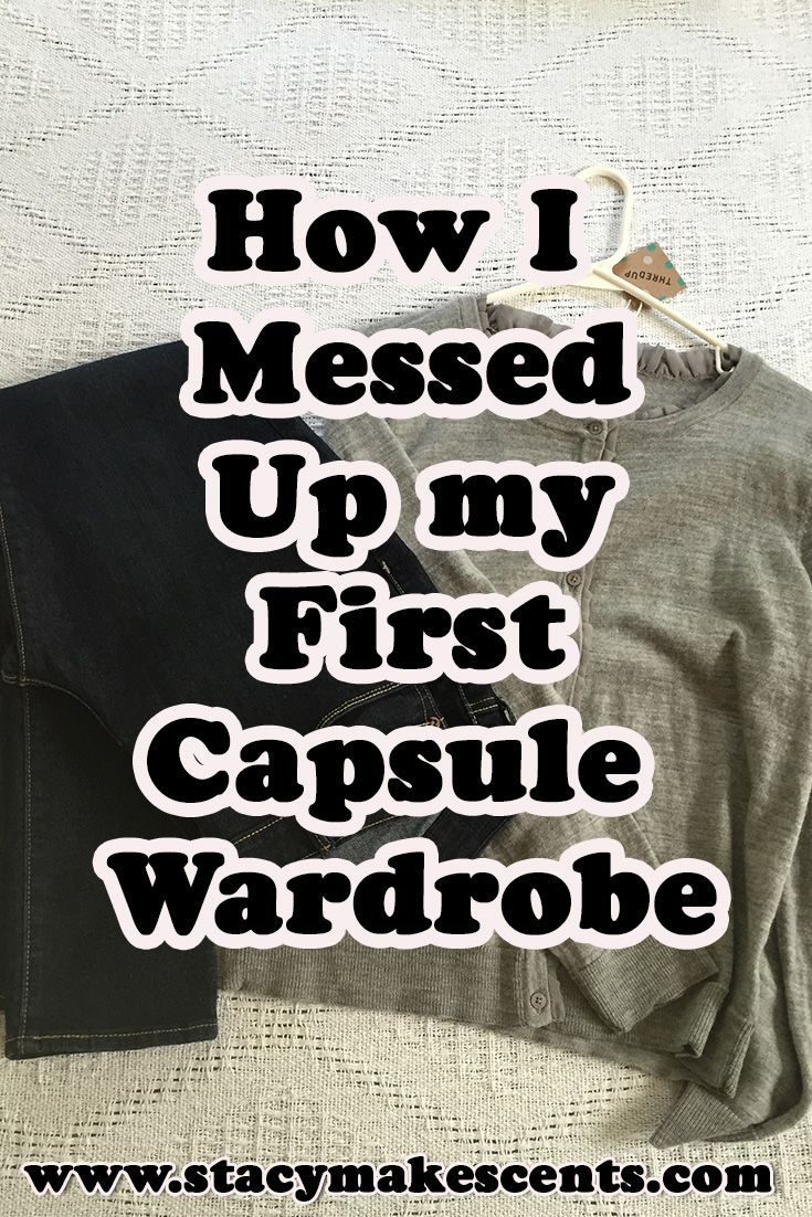 I messed up my very first capsule wardrobe. Find out what 6 things I did wrong and how I fixed them!
