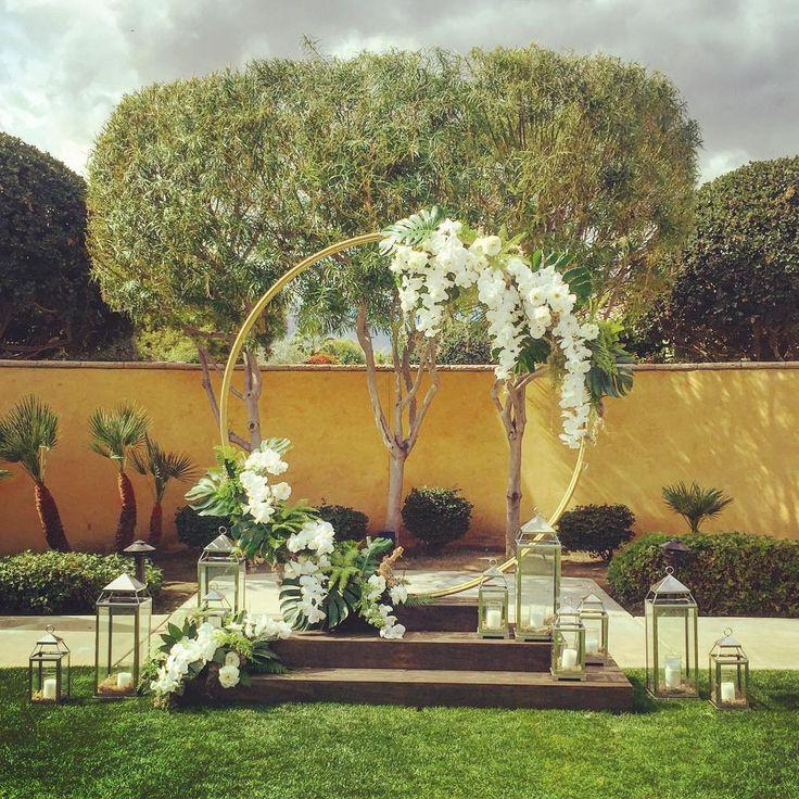 Diy Wedding Arch Ideas Circle: 1846 Best Wedding Backdrops Images On Pinterest