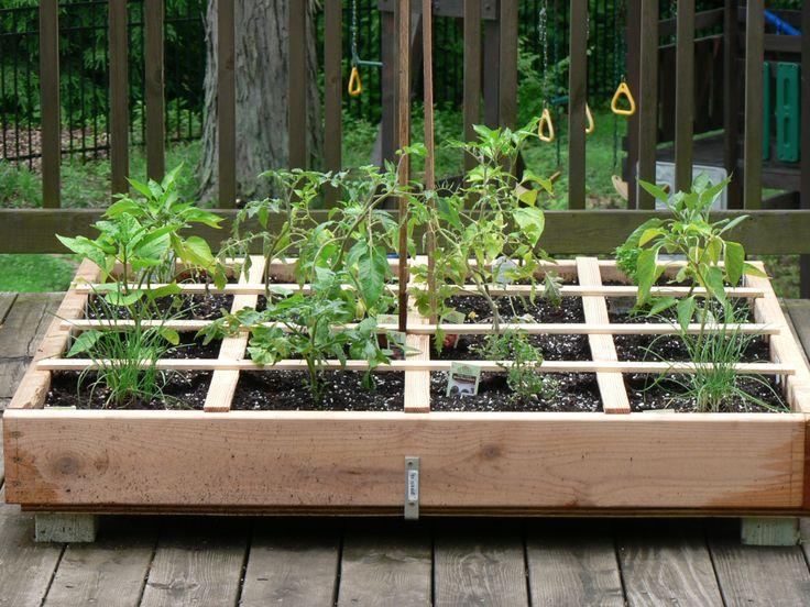 Raised garden box diy planted pinterest Building garden boxes