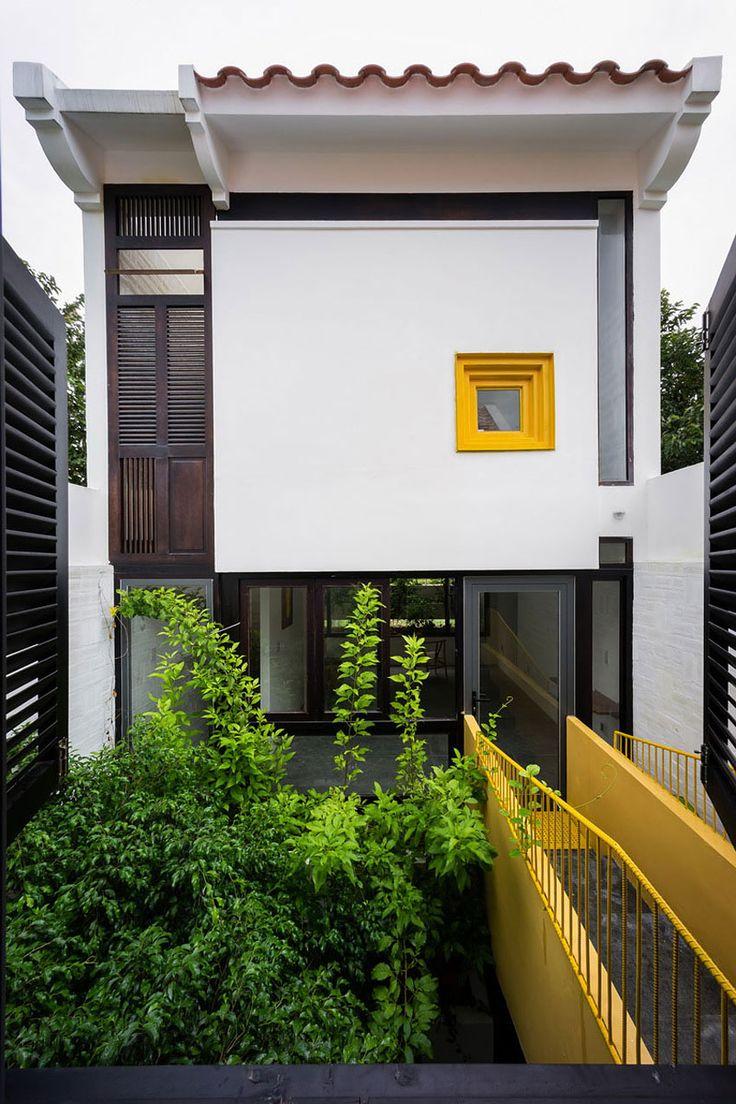 NHÀ THÔNG MINH: Ngôi nhà mang phong cách kiến trúc Hà Nội xưa ở Cần Thơ