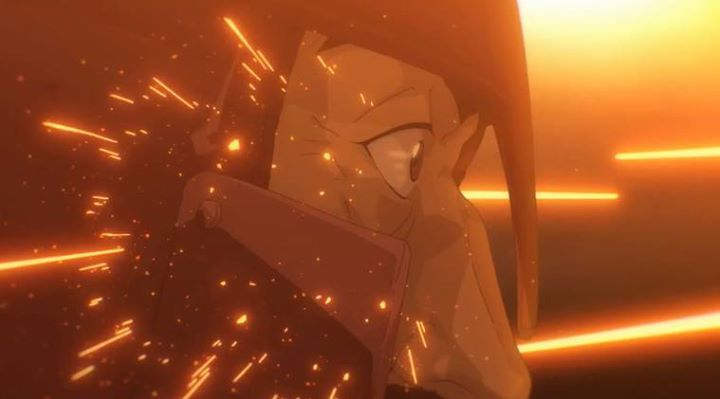 Like bringing a knife to a machine gun fight... #anime #animelover #otaku  #manga  #love #animeweapon #instagood #tbt #follow #followme #photooftheday