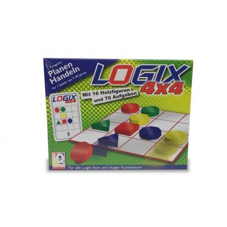 Plaats de 16 speelstukken aan de hand van visuele aanwijzingen op de juiste plaats op het speelbord. Dit spel ontwikkelt het vermogen tot logisch redeneren.