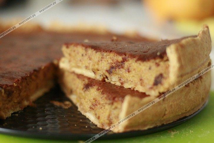 Американский тыквенный пирог пошаговый рецепт с фото