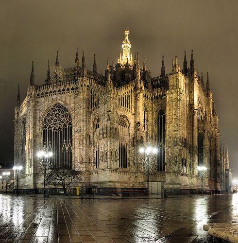 Milan - Il Duomo by Panoramas