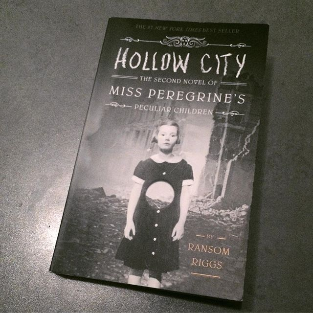 42/52: A book which is a trilogy - book two: Ransom Riggs' Hollow City. While it does suffer a little from being the middle book in a trilogy, it is still pretty awesome. I especially love how well the setting of World War II is incorporated. And of course the pictures.