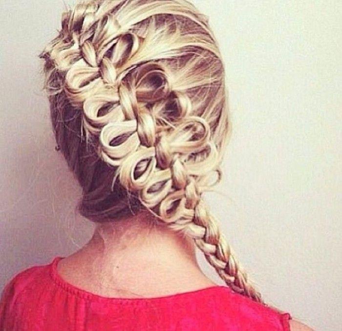 haartips en ideeen - strikjes van je haar...