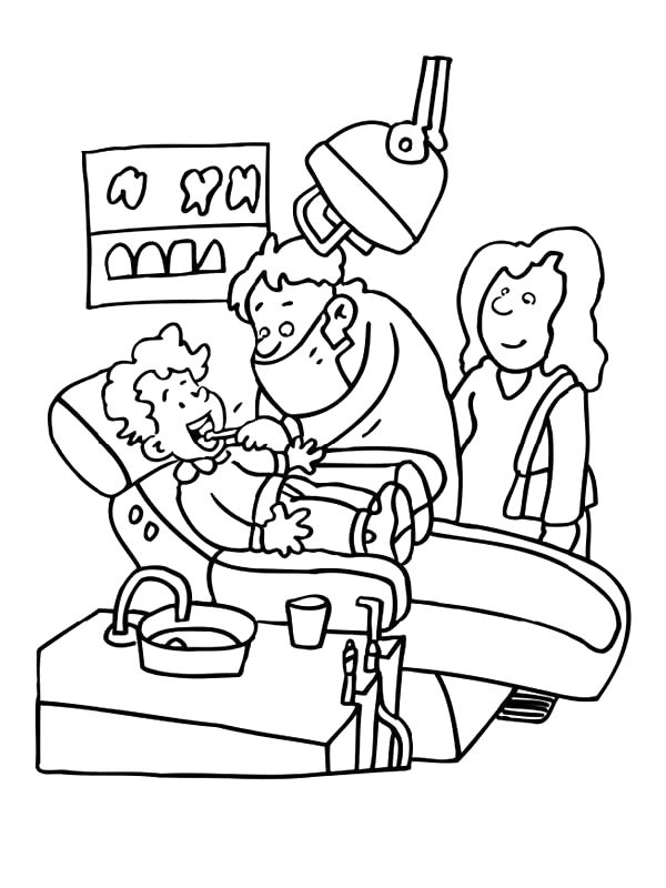 15 Best Images About Occupation Coloring Sheets On