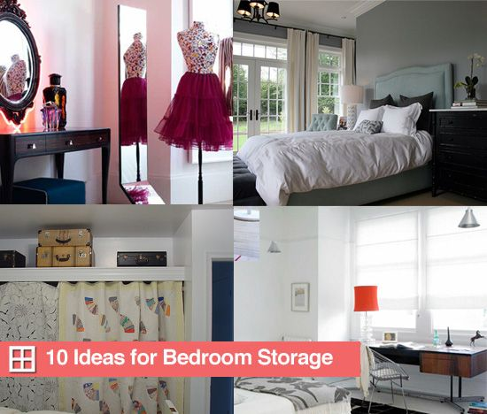 19 best images about storage for small rooms on pinterest - Best way to organize bedroom furniture ...