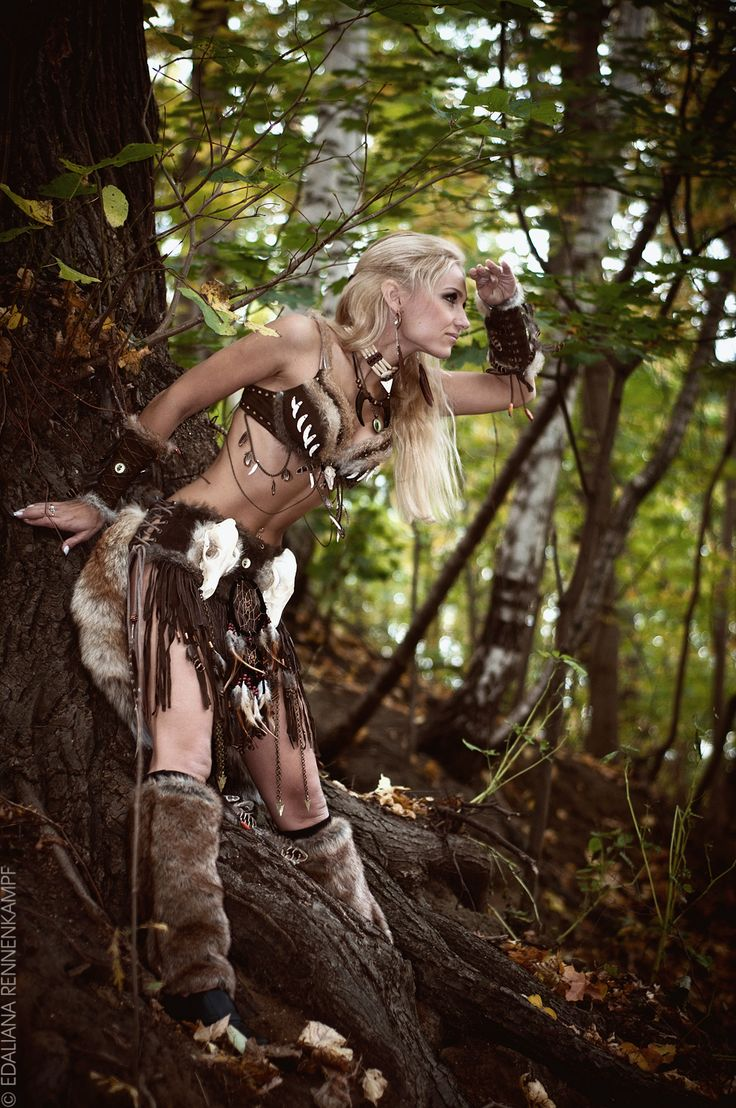 amazon warrior cave woman larp fantasy cosplay | other ...