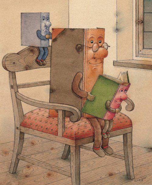 "Kestutis Kasparavicius ""Books... reading, reading, reading"""