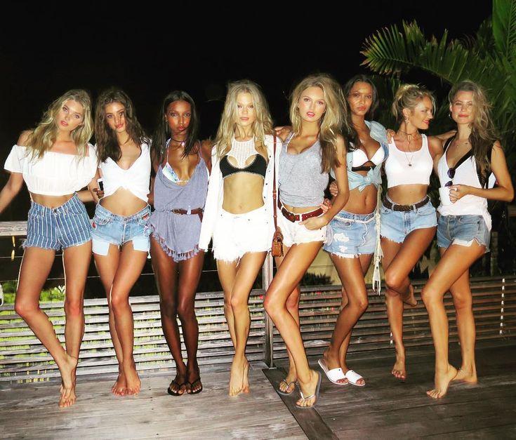 Elsa, Taylor, Jasmine, Vita, Romee, Lais, Candice, Behati