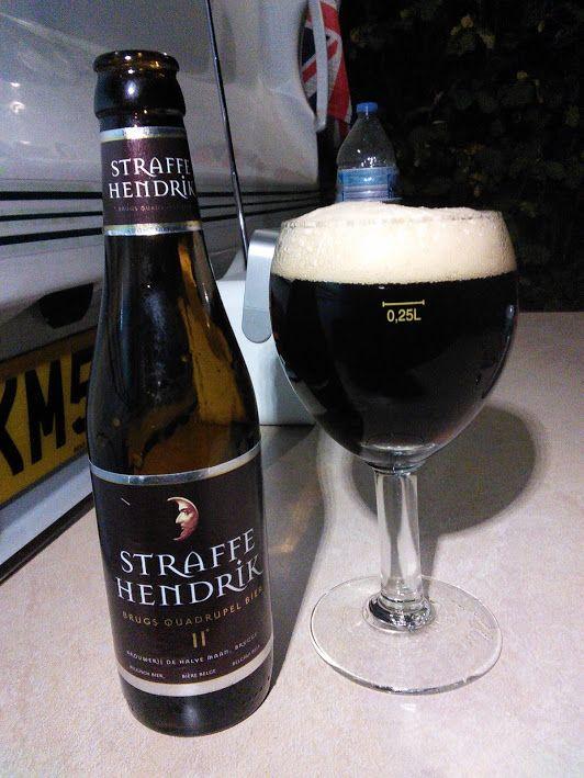 Straffe Hendrik Belgische Tripel van de brouwerij De Halve Maan Brugge.