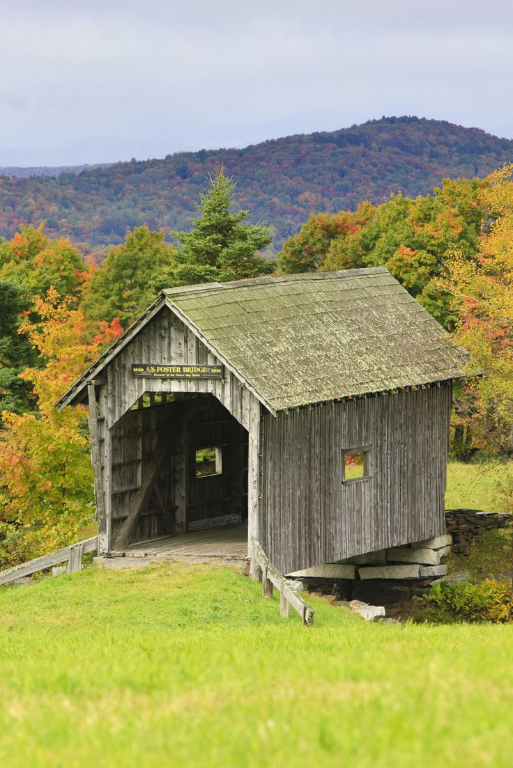 A. M. Foster Covered Bridge, Vermont